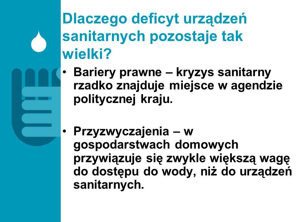 Dlaczego deficyt urządzeń sanitarnych pozostaje tak wielki