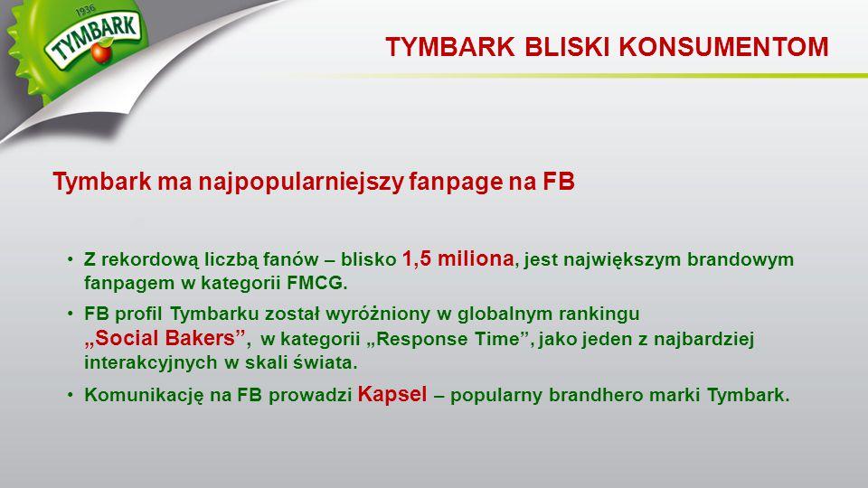 TYMBARK BLISKI KONSUMENTOM