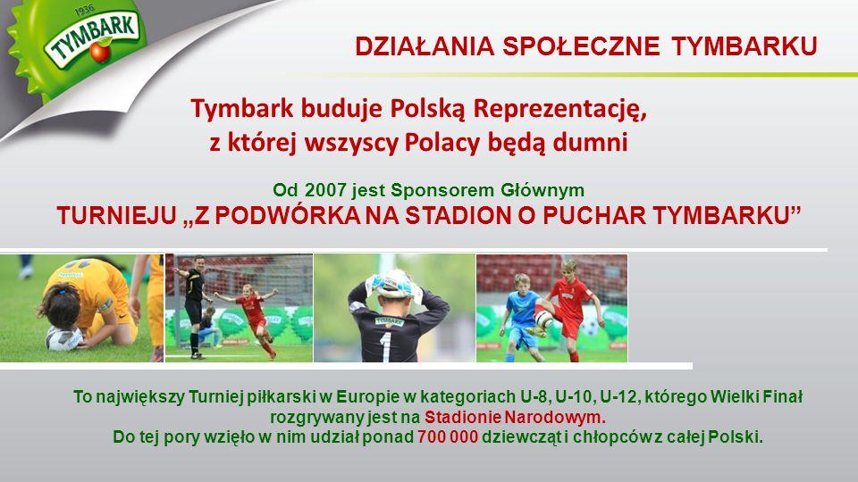 Tymbark buduje Polską Reprezentację,