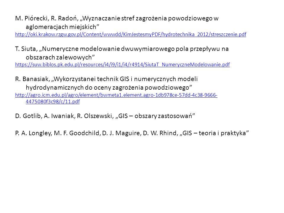"""D. Gotlib, A. Iwaniak, R. Olszewski, """"GIS – obszary zastosowań"""