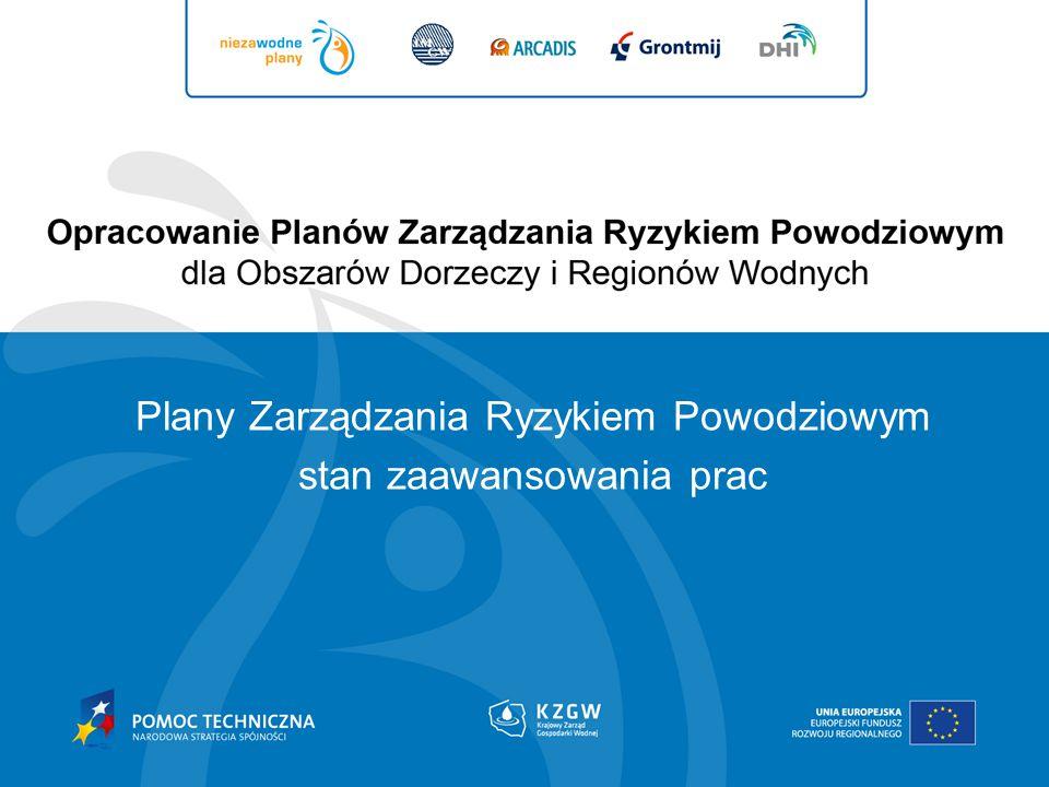 Plany Zarządzania Ryzykiem Powodziowym stan zaawansowania prac
