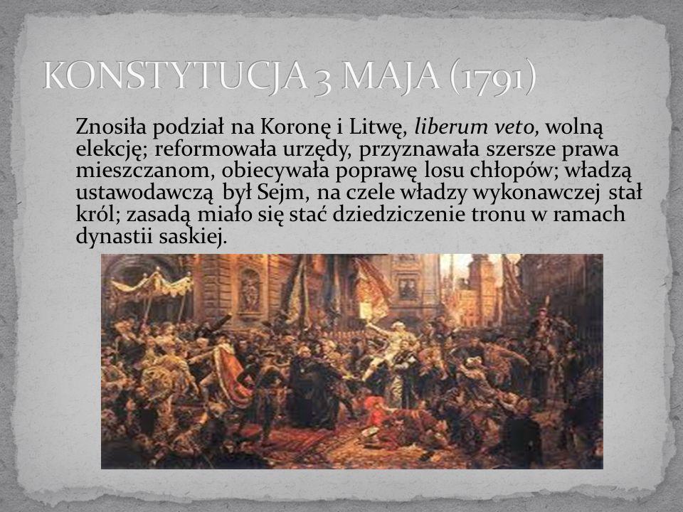 KONSTYTUCJA 3 MAJA (1791)