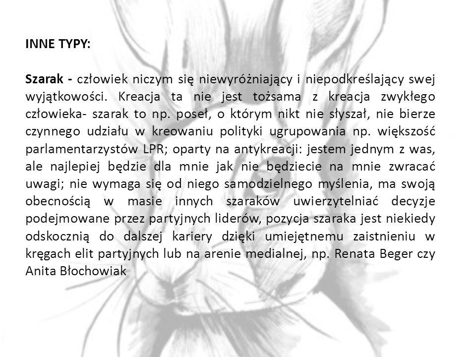 INNE TYPY: