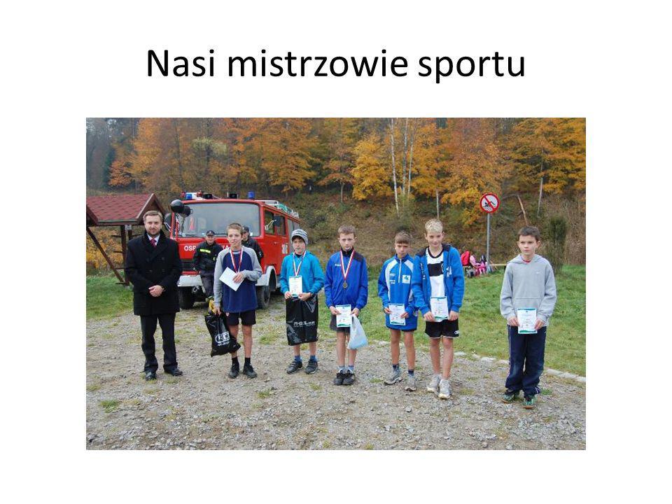 Nasi mistrzowie sportu