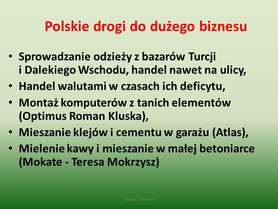 Polskie drogi do dużego biznesu