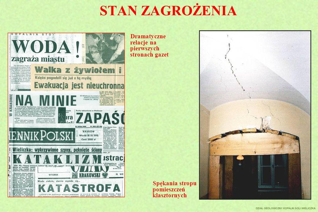 STAN ZAGROŻENIA Dramatyczne relacje na pierwszych stronach gazet