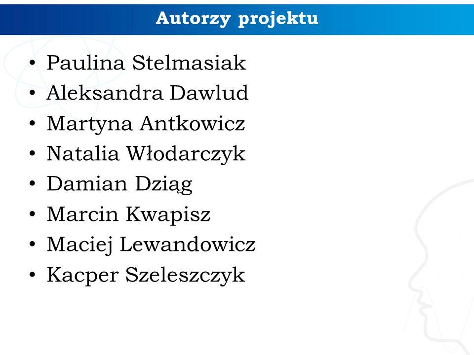 Paulina Stelmasiak Aleksandra Dawlud Martyna Antkowicz