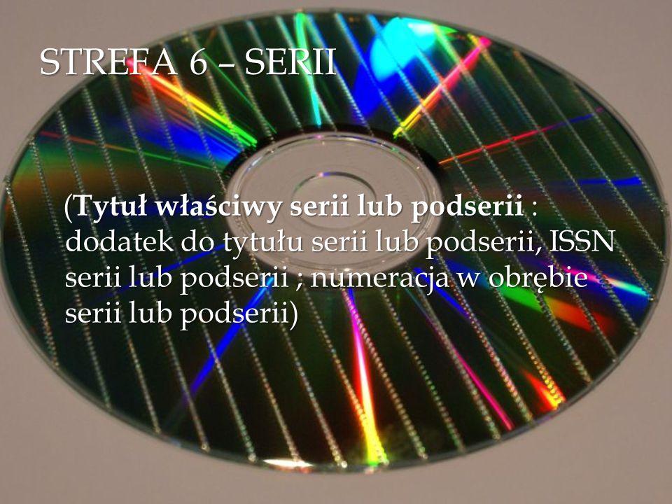 STREFA 6 – SERII