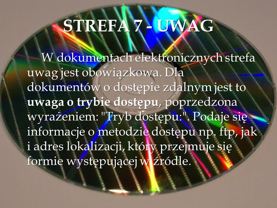 STREFA 7 - UWAG