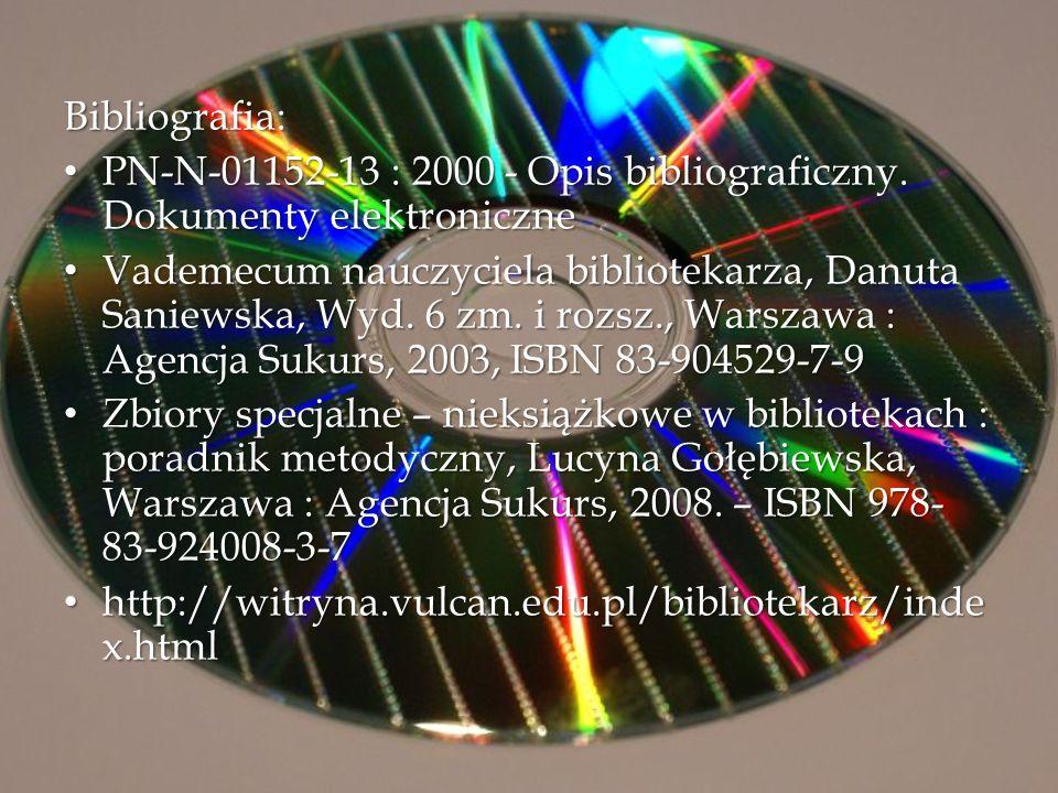 PN-N-01152-13 : 2000 - Opis bibliograficzny. Dokumenty elektroniczne