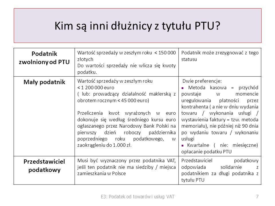 Kim są inni dłużnicy z tytułu PTU