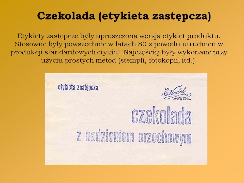 Czekolada (etykieta zastępcza)