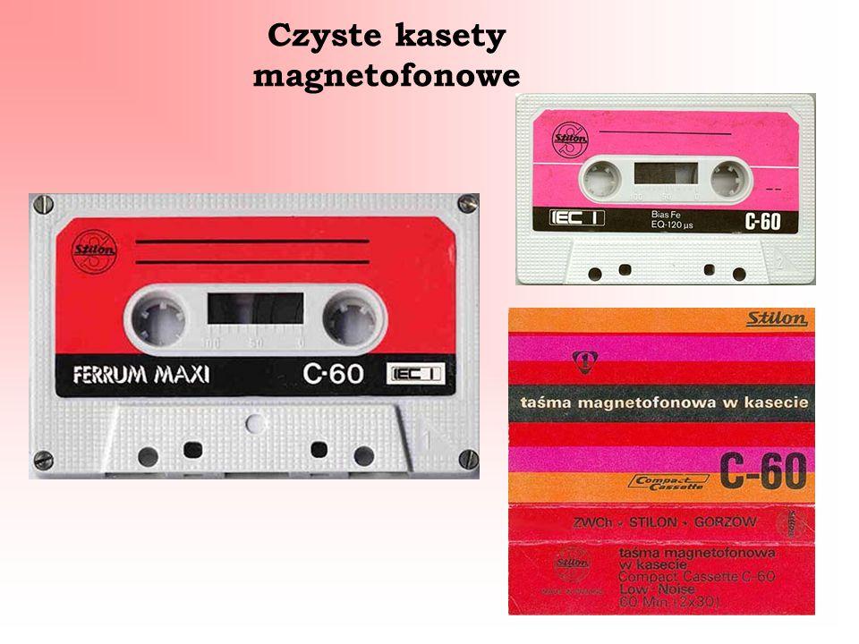 Czyste kasety magnetofonowe
