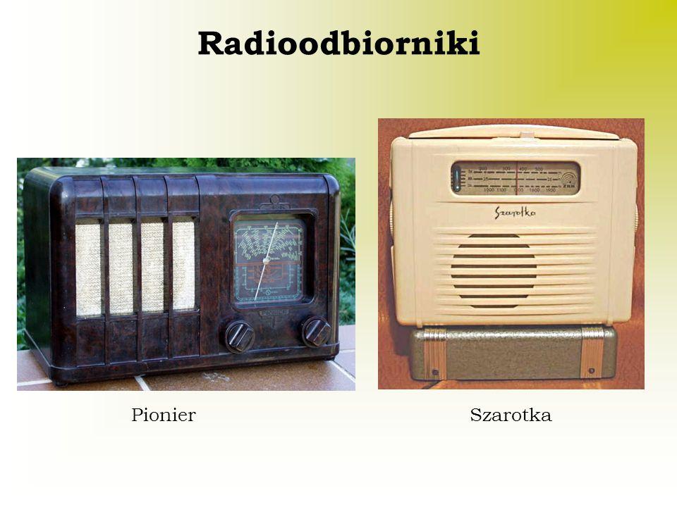Radioodbiorniki Pionier Szarotka