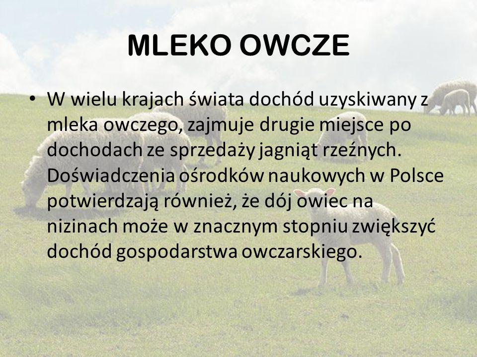 MLEKO OWCZE