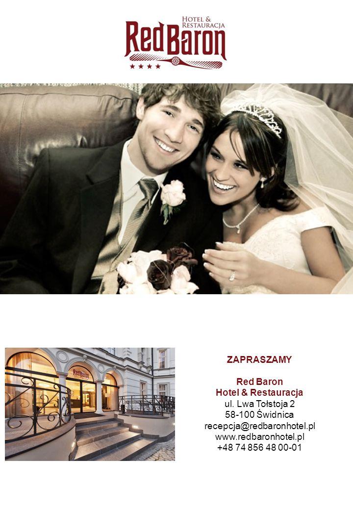 recepcja@redbaronhotel.pl www.redbaronhotel.pl