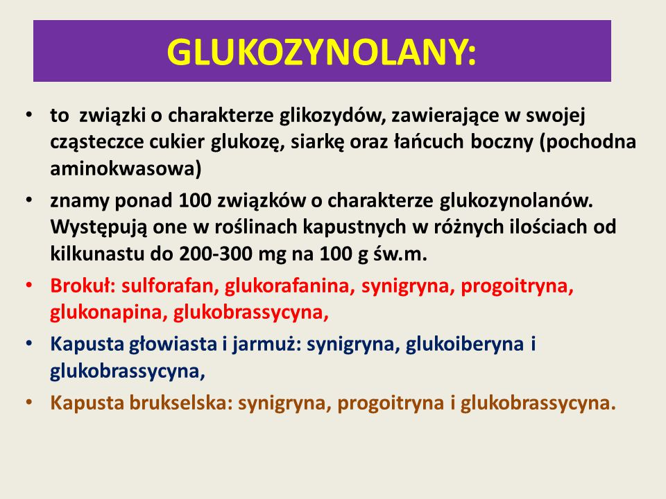 GLUKOZYNOLANY:
