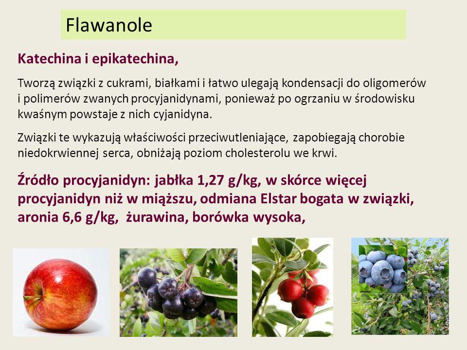 Flawanole Katechina i epikatechina,