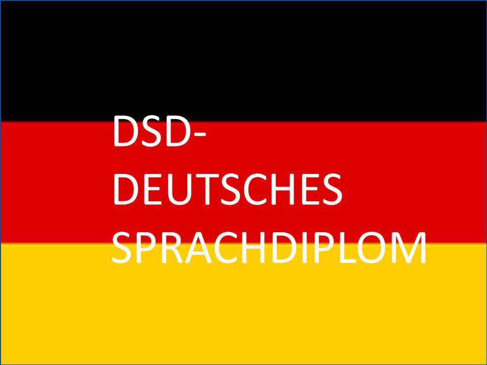 DSD- Deutsches Sprachdiplom