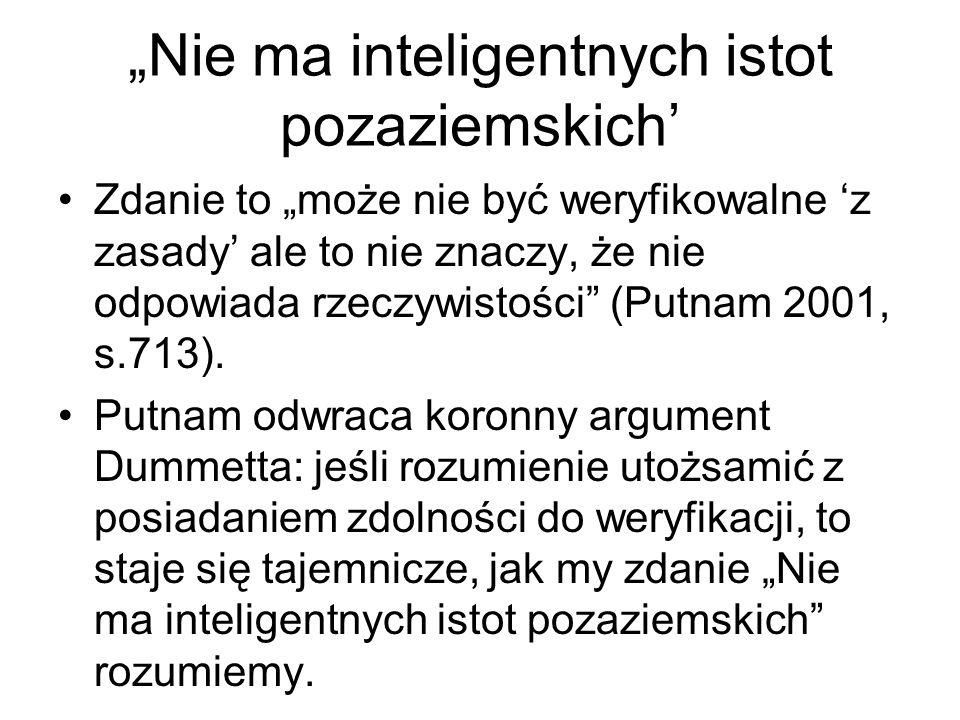 """""""Nie ma inteligentnych istot pozaziemskich'"""