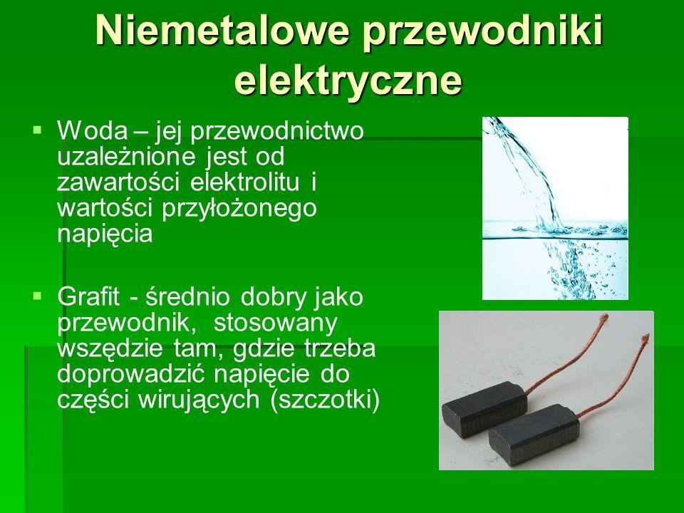 Niemetalowe przewodniki elektryczne