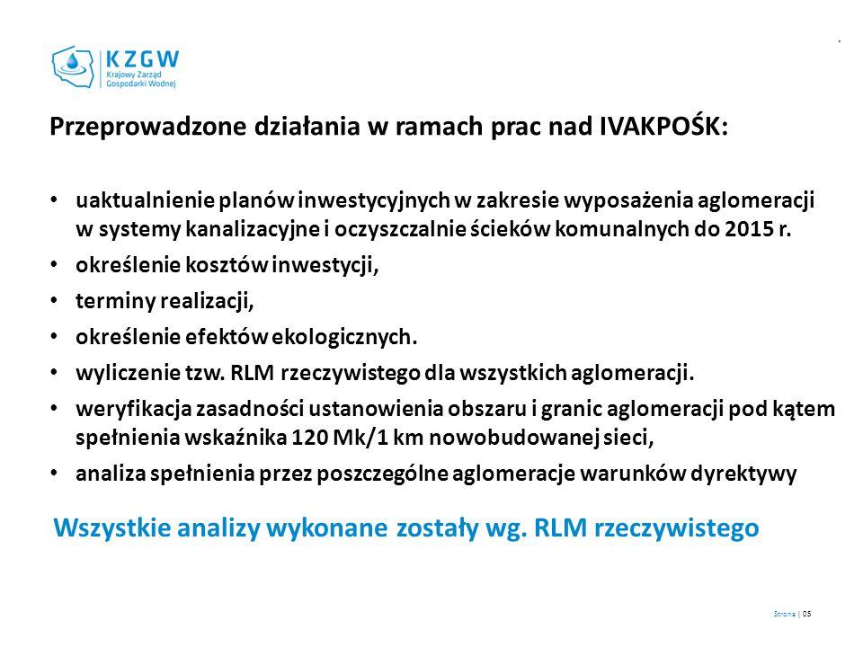 Przeprowadzone działania w ramach prac nad IVAKPOŚK: