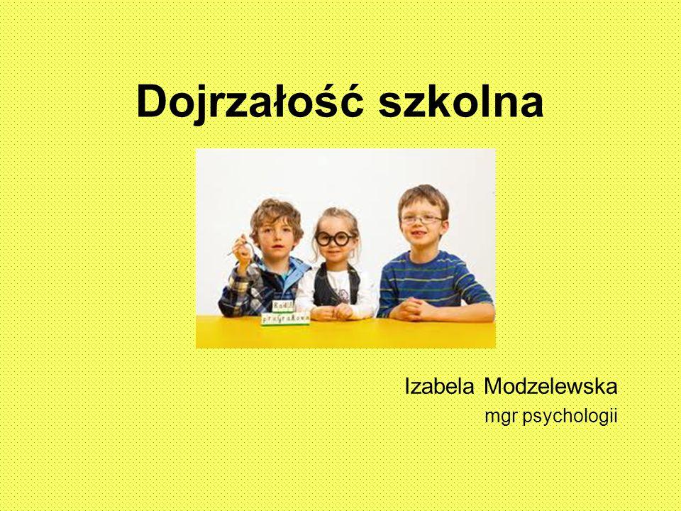 Izabela Modzelewska mgr psychologii
