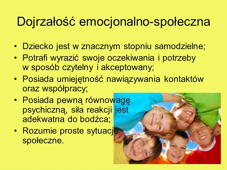 Dojrzałość emocjonalno-społeczna