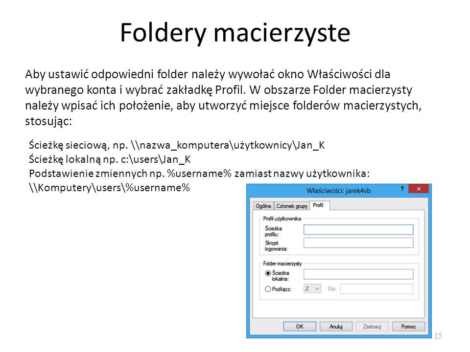 Foldery macierzyste