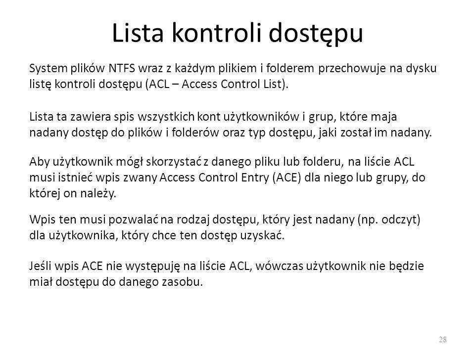 Lista kontroli dostępu