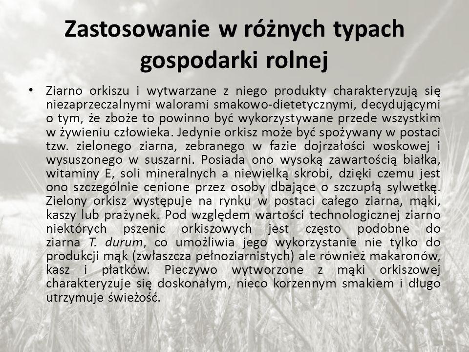 Zastosowanie w różnych typach gospodarki rolnej