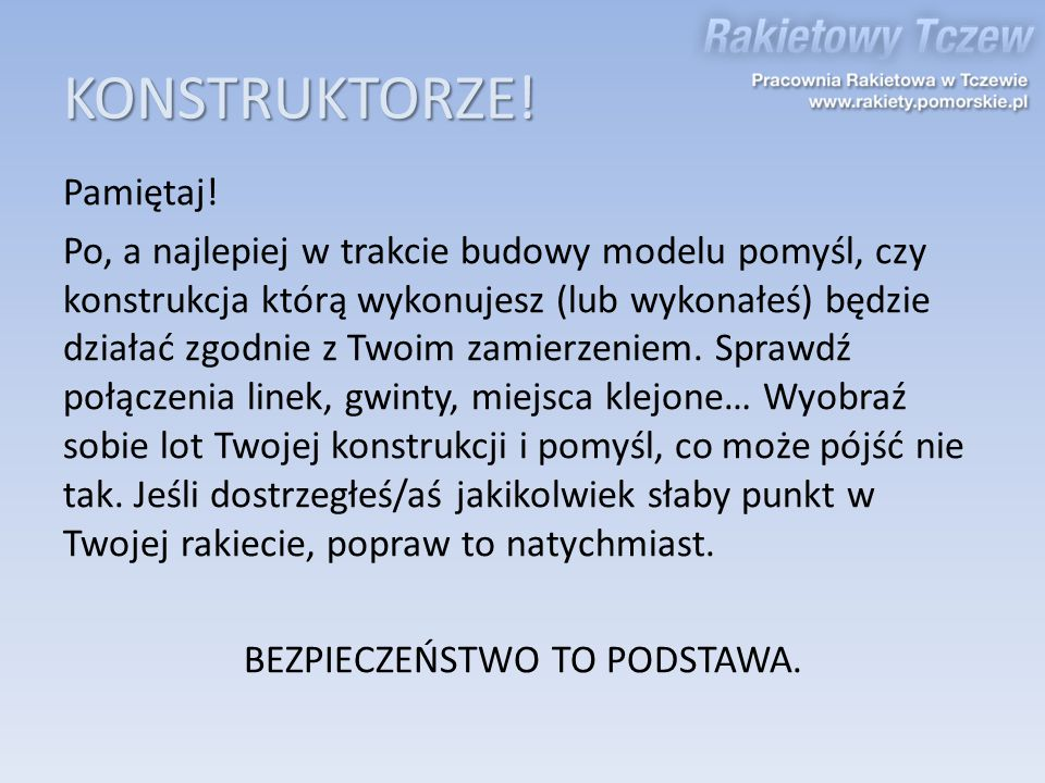 KONSTRUKTORZE!