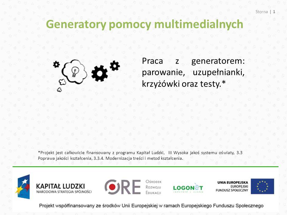 Generatory pomocy multimedialnych