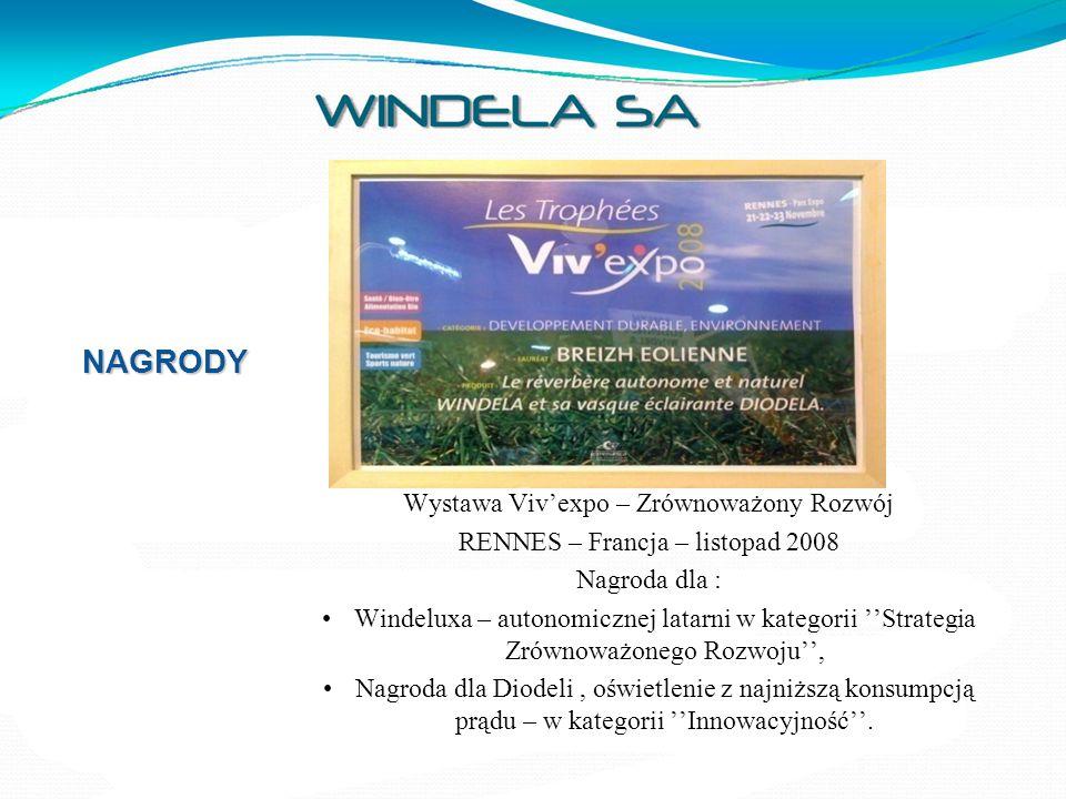 NAGRODY Wystawa Viv'expo – Zrównoważony Rozwój
