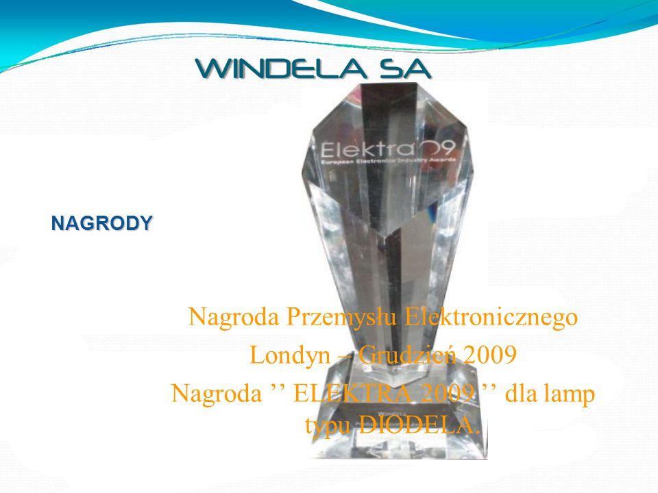 Nagroda Przemysłu Elektronicznego Londyn – Grudzień 2009