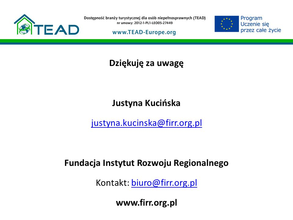 Fundacja Instytut Rozwoju Regionalnego