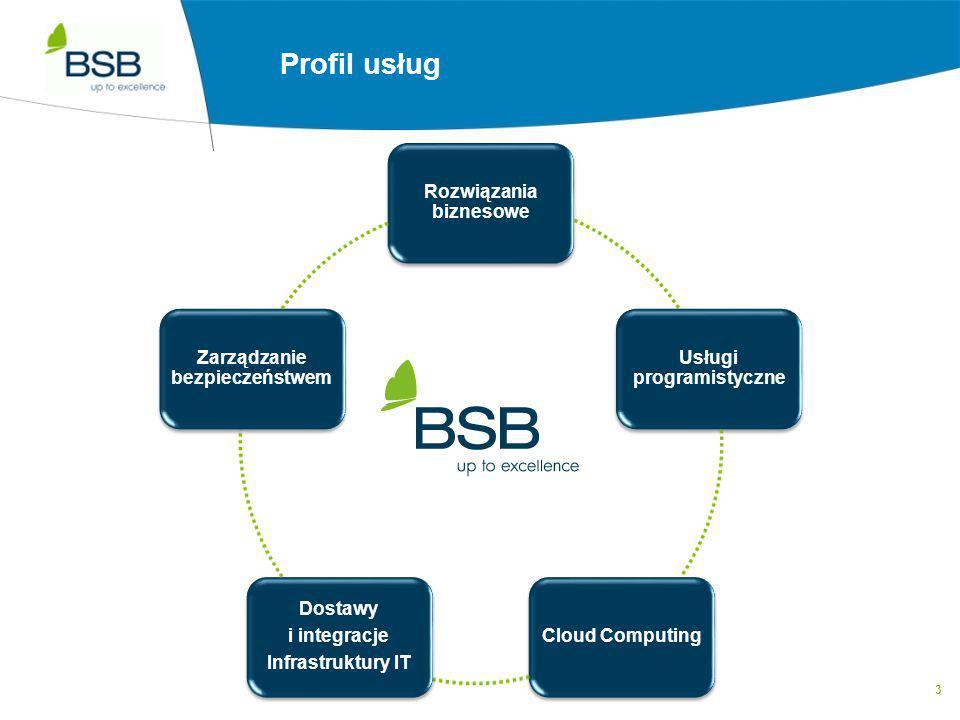 Profil usług Rozwiązania biznesowe Usługi programistyczne