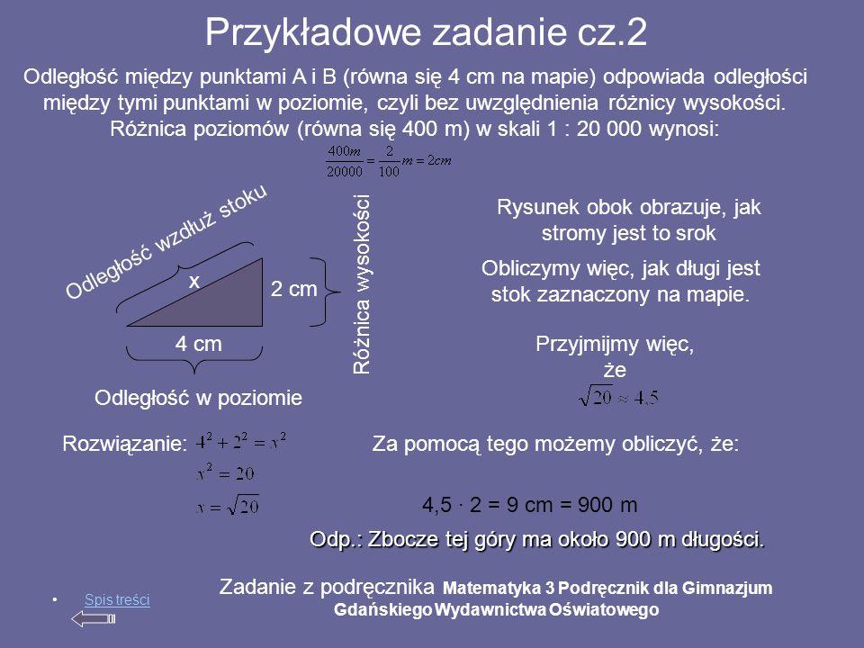 Przykładowe zadanie cz.2