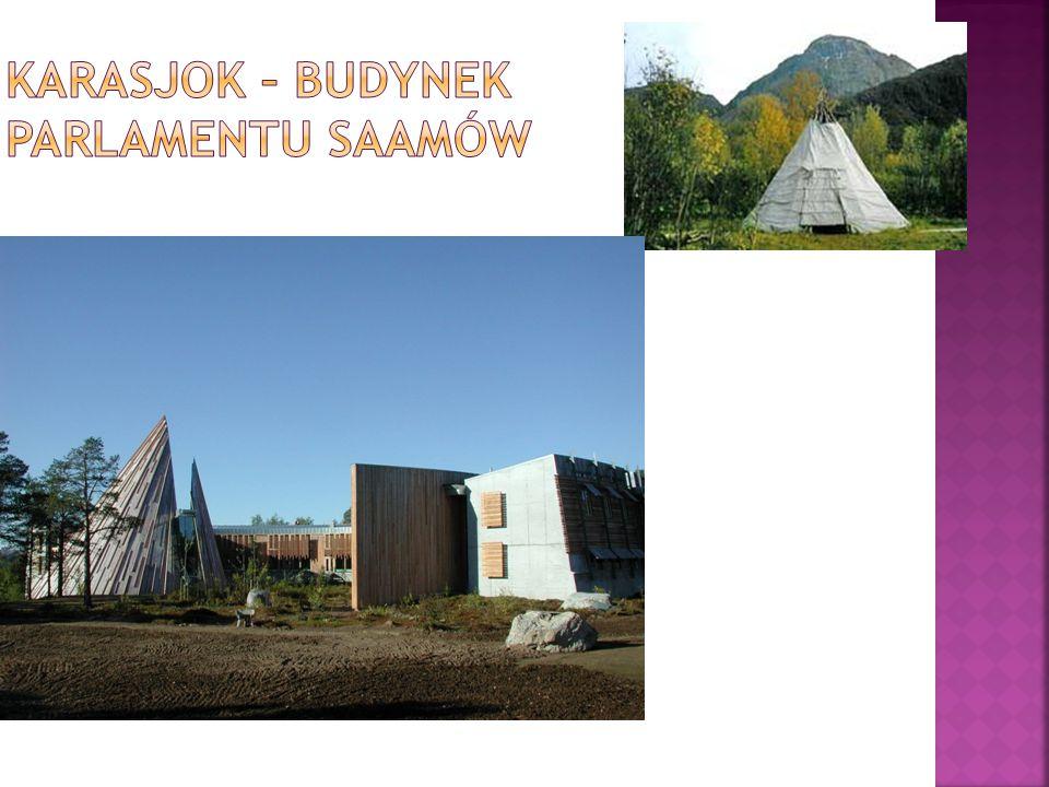 Karasjok – Budynek parlamentu saamów