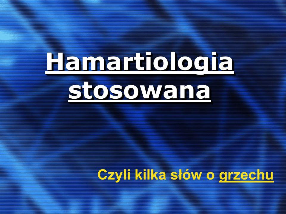 Hamartiologia stosowana