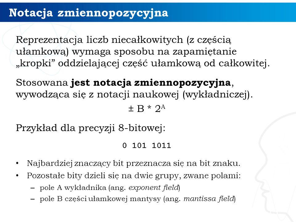 Notacja zmiennopozycyjna