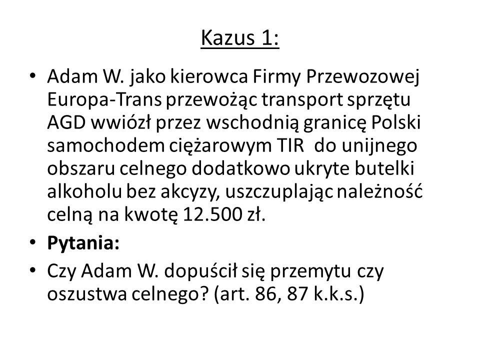 Kazus 1: