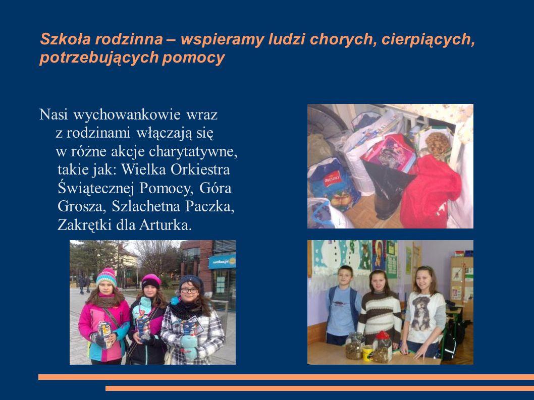 Szkoła rodzinna – wspieramy ludzi chorych, cierpiących, potrzebujących pomocy
