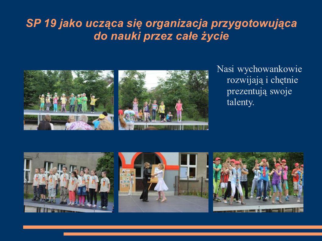 SP 19 jako ucząca się organizacja przygotowująca do nauki przez całe życie