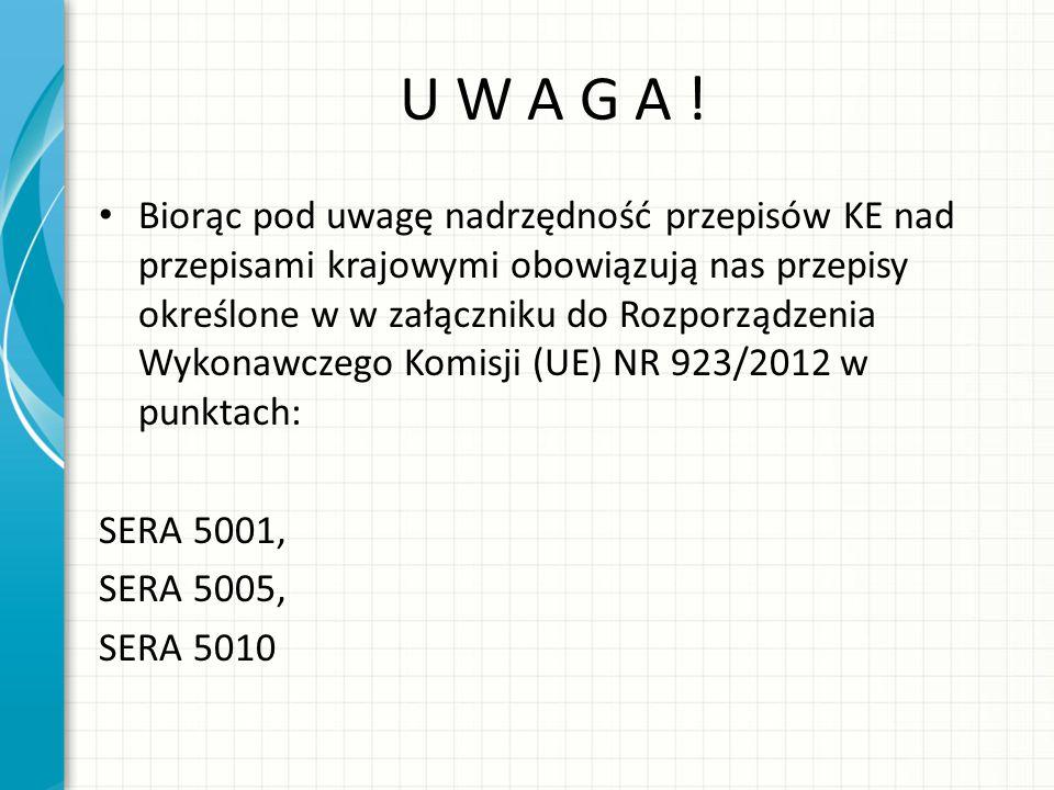 U W A G A !
