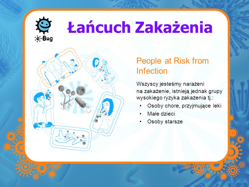 Łańcuch Zakażenia People at Risk from Infection