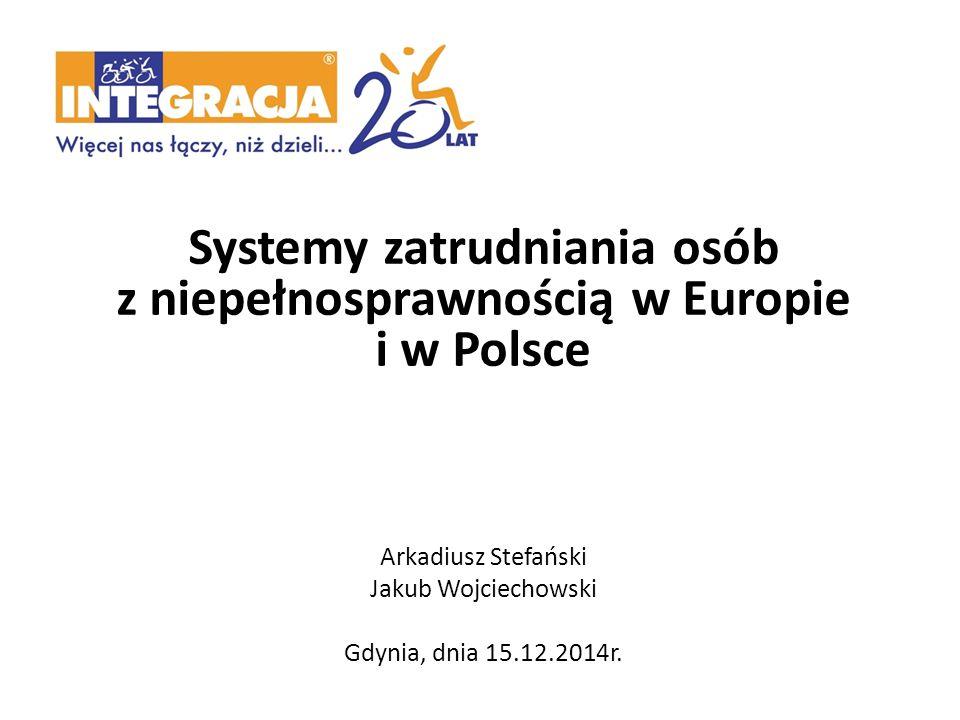 Systemy zatrudniania osób z niepełnosprawnością w Europie i w Polsce