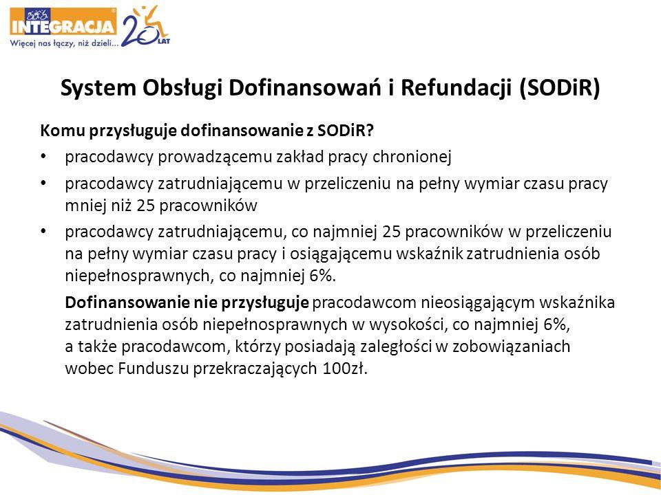 System Obsługi Dofinansowań i Refundacji (SODiR)