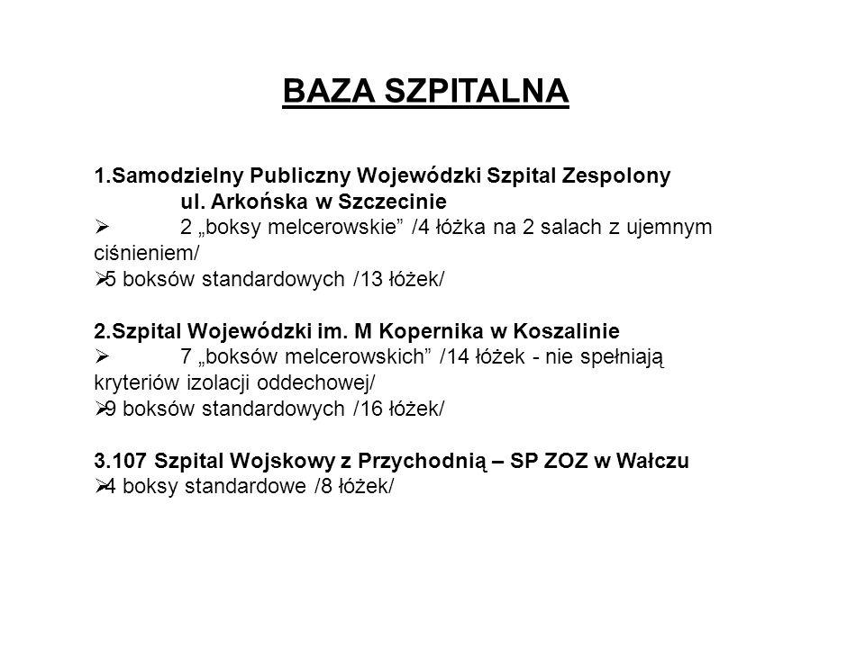 BAZA SZPITALNA Samodzielny Publiczny Wojewódzki Szpital Zespolony