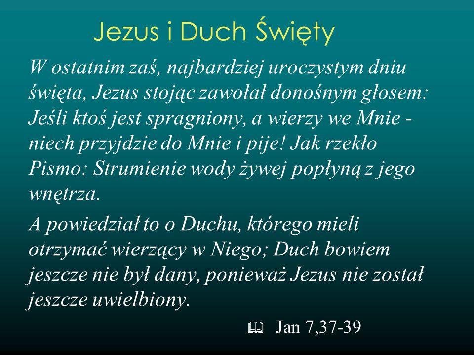 Jezus i Duch Święty